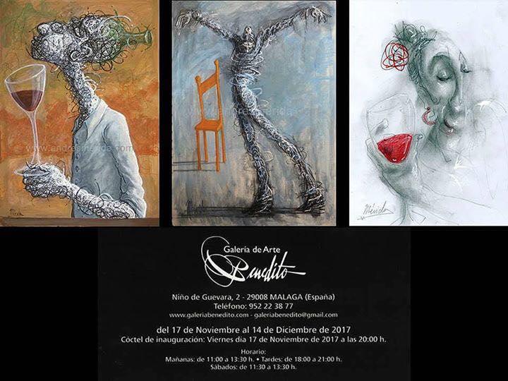 Exposición Galería de Arte Benedito17Nov-14Dic 2017
