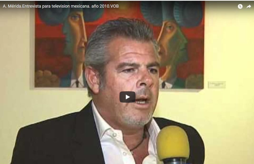 Entrevista Para Televisión Mexicana