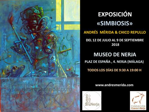 "EXPOSICIÓN EN MUSEO DE NERJA -""SIMBIOSIS""-"