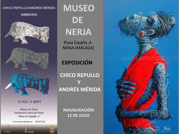 "EXPOSICIÓN EN MUSEO DE NERJA. ""SIMBIOSIS"""