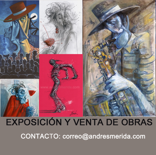 EXPOSICIÓN Y VENTA EN EL ESTUDIO DE MÉRIDA