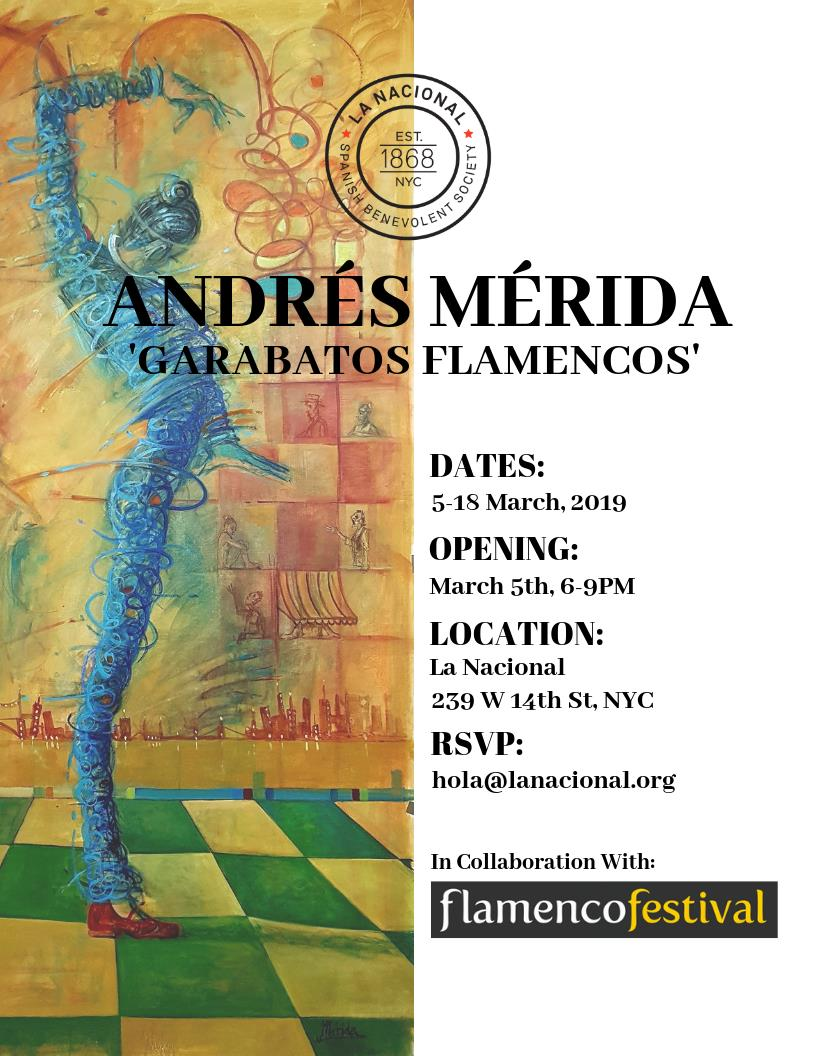 "EXHIBITION ""GARABATOS FLAMENCOS"" –  LA NACIONAL New York"